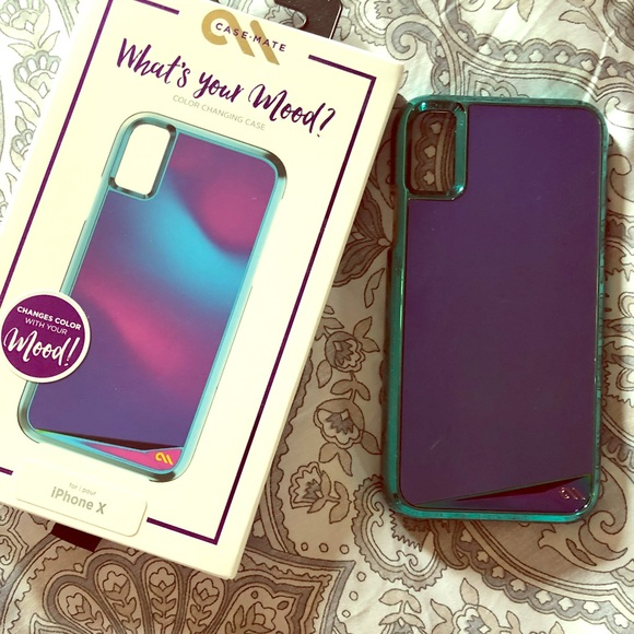 new concept bb517 76868 FLASH SALE** Casemate IPhone X mood changing case